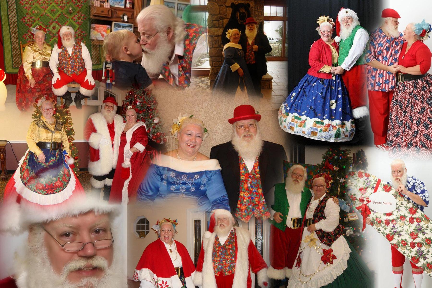 Mr. and Mrs. Santa Claus!